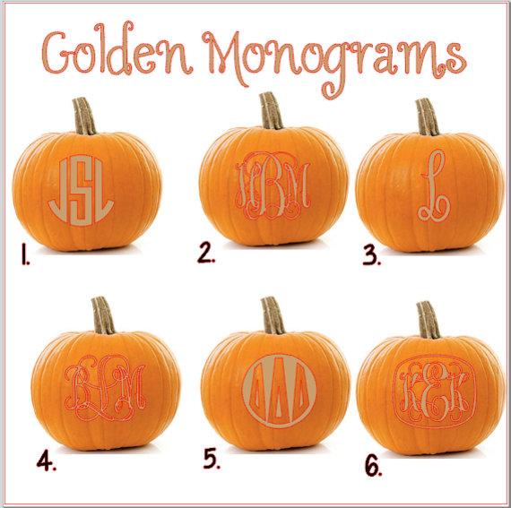 MonogrammedPumpkins