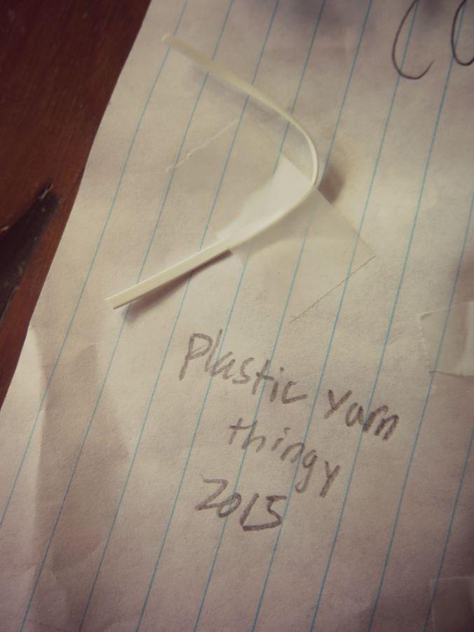 Plastic thingy